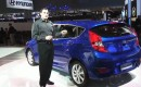 2012 Hyundai Accent at 2011 New York Auto Show with High Gear Media's Joel Feder
