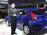 2012 Hyundai Accent Subcompact: Video Tour From NY Auto Show
