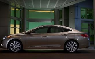 2012 Hyundai Azera Large Family Sedan Priced From $32,000