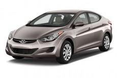 2012 Hyundai Elantra 4-door Sedan Auto GLS (Alabama Plant) Angular Front Exterior View