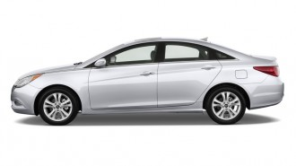 2012 Hyundai Sonata 4-door Sedan 2.4L Auto Limited Side Exterior View