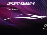 2012 Infiniti Emerg-E Concept teaser