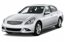 2012 Infiniti G25 Sedan 4-door Journey RWD Angular Front Exterior View