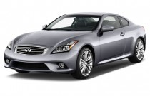 2012 Infiniti G37 Coupe 2-door Journey RWD Angular Front Exterior View