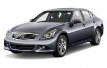 2012 Infiniti G37 Sedan 4-door Journey RWD Angular Front Exterior View