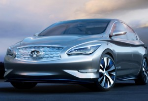 Infiniti LE Concept: Electric Sedan Full Details, NY Auto Show