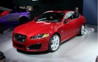 2012 Jaguar XFR: 2011 New York Auto Show Live Photos