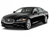 2012 Jaguar XJ 4-door Sedan XJL Supercharged Angular Front Exterior View