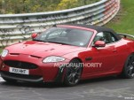 2012 Jaguar XKR-S Convertible spy shots
