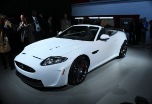 2012 Jaguar XKR-S Convertible live photos