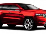 2012 Jeep Grand Cherokee SRT8 preview sketch