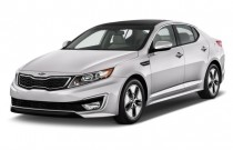 2012 Kia Optima 4-door Sedan 2.4L Auto EX Hybrid Angular Front Exterior View