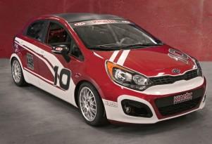 2012 Kia Rio B-Spec race car