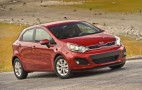 2012 Kia Rio EX, 2012 Honda Fit Earn Top Subcompact Rankings