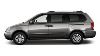 2012 Kia Sedona 4-door Wagon LX Side Exterior View