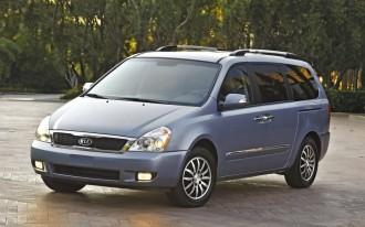 2006-2012 Kia Sedona recalled for corrosion troubles--again
