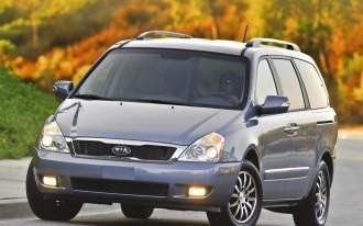 Kia Sedona Minivan Won't Return For 2013; 2014 Replacement Likely