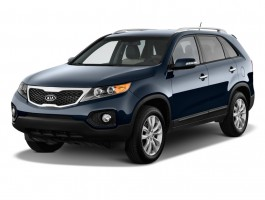 2012 Kia Sorento 2WD 4-door V6 EX Angular Front Exterior View