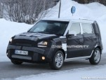 2012 Kia Soul facelift spy shots