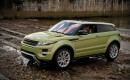2012 Land Rover Range Rover Evoque  -  Off-Road First Drive