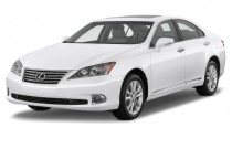 2012 Lexus ES 350 4-door Sedan Angular Front Exterior View