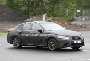 2012 Lexus GS spy shots