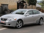 2012 Lexus GS test-mule spy shots