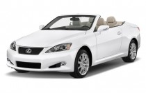 2012 Lexus IS 250C 2-door Convertible Auto Angular Front Exterior View