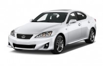 2012 Lexus IS 350 4-door Sedan RWD Angular Front Exterior View