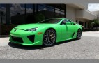 Lightly-Used Neon Green 2012 Lexus LFA For Sale (Update)