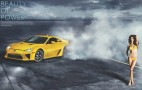Video: 2012 Lexus LFA Meets Dutch Supermodel In Sports Illustrated Photo Shoot