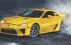 Lexus LFA Trio Goes Dancing...Err...Drifting: Video