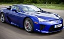 Right-hand drive 2012 Lexus LFA