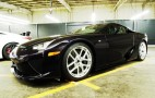 Lexus Teases The First (And Only) Black Amethyst LFA