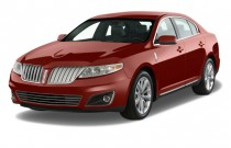 2012 Lincoln MKS 4-door Sedan 3.7L AWD Angular Front Exterior View