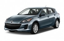 2012 Mazda MAZDA3 5dr HB Auto i Touring Angular Front Exterior View