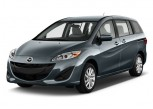 2012 Mazda MAZDA5 4-door Wagon Auto Sport Angular Front Exterior View