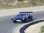 2012 McLaren MP4 GT3 racecar spy shots