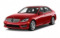 2012 Mercedes-Benz C Class 4-door Sedan C250 Sport RWD Angular Front Exterior View