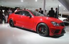 2012 Mercedes-Benz C63 AMG Coupe Black Series Live Photos: 2011 Frankfurt Auto Show