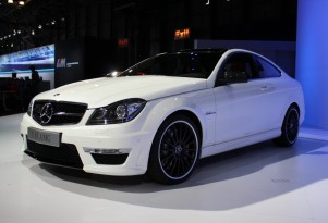 2012 Mercedes-Benz C63 AMG Coupe live photos