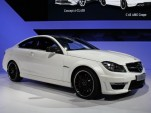 2012 Mercedes-Benz C63 AMG Coupe live photos