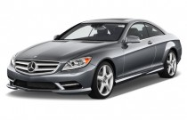 2012 Mercedes-Benz CL Class 2-door Coupe 5.5L V12 RWD Angular Front Exterior View