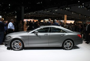 2012 Mercedes-Benz CLS63 AMG live photos