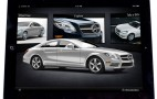 2012 Mercedes-Benz CLS Accessorizes With Apple iPad App