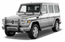 2012 Mercedes-Benz G Class 4MATIC 4-door 5.5L Angular Front Exterior View