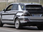 2012 Mercedes-Benz ML-Class with AMG Sports Pack spy shots