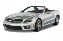 2012 Mercedes-Benz SL Class 2-door Roadster 6.3L AMG Angular Front Exterior View