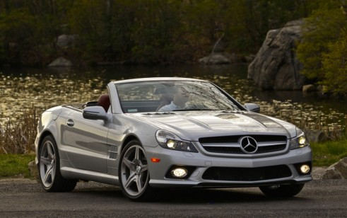 2012 Mercedes-Benz SL Class / SL 550