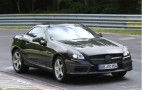 2012 Mercedes-Benz SLK55 AMG Spy Shots